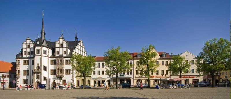 Saalfeld Marktplatz